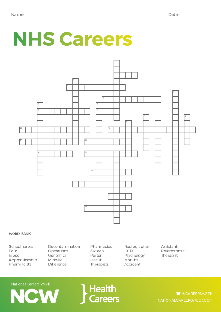 Careers Crosswords