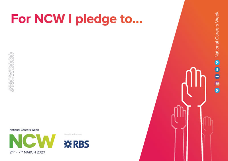 Your #NCW2020 Pledge