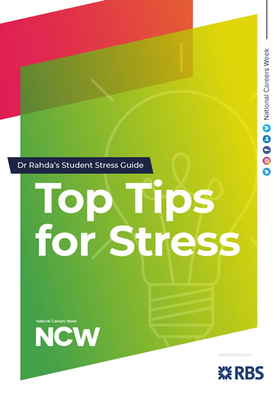 Dr Radha's Top Tips For Stress
